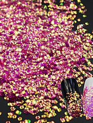 爪の輝きの人魚のスパンコール0.003kg /箱