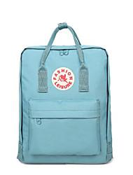 preiswerte -Damen Taschen Oxford Tuch Rucksack Reißverschluss für Normal Ganzjährig Blau Schwarz Dunkelblau Himmelblau Wein