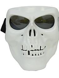 economico -maschera facciale di plastica di protezione di scheletro del cranio protettivo di plastica all'aperto