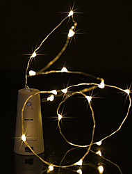 cheap -BRELONG 0.5M 5LED Wine Bottle Copper String Lights For Christmas Wedding Party Decorations