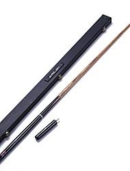 economico -Tre quarti due pezzi Cue Cue Sticks & Accessori Snooker English Biliardo Cenere Ebano