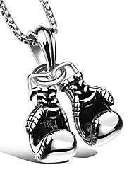 cheap -Men's / Women's Pendant Necklace - Titanium Steel Sports White Necklace One-piece Suit For Ceremony, Work