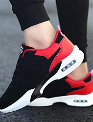 Недорогие -Муж. Резина Весна / Осень Удобная обувь Спортивная обувь Черный / Черно-белый / Черный / Красный