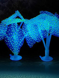 cheap -Aquarium Decoration Jellyfish Decoration Artificial Silicon Rubber