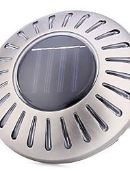 Недорогие -1шт водонепроницаемый 6leds ufo солнечной энергии дорожки лужайка света из нержавеющей стали настенный светильник
