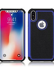 abordables -Coque Pour Apple iPhone X iPhone 8 Coque iPhone 5 iPhone 6 iPhone 6 Plus iPhone 7 Plus iPhone 7 Antichoc Coque Armure Dur Silicone pour