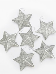 cheap -Christmas Decorations Christmas Party Supplies Christmas Tree Ornaments Christmas Trees Toys Stars Star Shape Holiday Romance Fantacy
