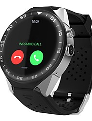 cheap -Smart Watch Heart Rate Monitor Water Resistant / Water Proof Pedometers Video Passometer Calculator Answer Call Quick-Charging Dial Call