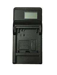 ismartdigi 301 lcd usb camera battery charger para gopro hero ahdbt-301 201 batería - negro