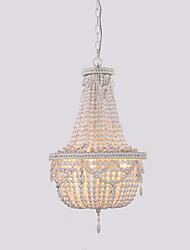 cheap -Retro/Vintage Lantern Modern/Contemporary Pendant Light For Bedroom Kids Room AC 110-120 AC 220-240V Bulb Not Included