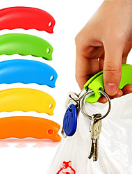 1Pc Silicone Bag Carrier Handle Hang Handbag Basket Shopping Bag Holder Comfortable Grip Protect Hand