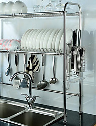 cheap -1pc Kitchen Stainless steel Cabinet Accessories