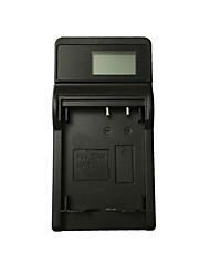 ismartdigi 7l lcd usb camera battery charger para canon 7l nb-7l batería - negro
