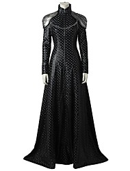 cheap -Super Heroes GOT Dragon Mother One Piece Dress Cosplay Costume Movie Cosplay Gray & Black Dresses More Accessories Halloween Carnival