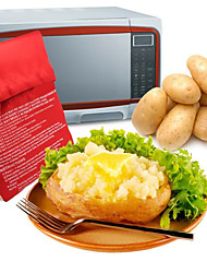 cheap -Washable Cooker Bag Baked Potato Microwave Cooking Potato Quick Fast Cooks 4 Potatoes 1 Time