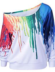 preiswerte -Damen Pullover Lässig/Alltäglich Ausgehen camuflaje Andere
