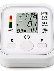 Upper Arm Time Display On/Off Switch LCD Blood Pressure Measurement ABS