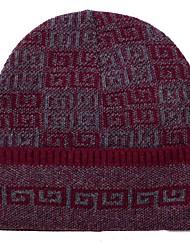 Unisex Inverno Punto roma Casual Toque floscio,Floreale Alla moda Lavorato a maglia