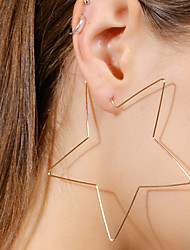 cheap -Women's Drop Earrings Simple Fashion European Alloy Star Jewelry For Bar