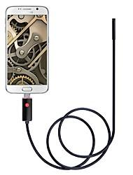 Недорогие -2 в 1 usb эндоскоп камера 5.5mm объектив ip67 водонепроницаемый осмотр бороскоп 2m кабель черный для windows android змея cam