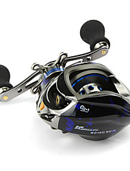 cheap -Fishing Reel Baitcast Reels 6.3:1 13 Ball Bearings Right-handed Left-handed Sea Fishing-SC120E-X