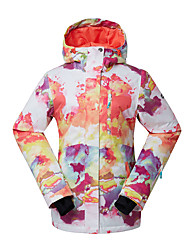 cheap -Women's Ski Jacket Warm, Waterproof, Windproof Skiing / Ski / Snowboard Eco-friendly Polyester, Silk Cloth Down Jacket Ski Wear