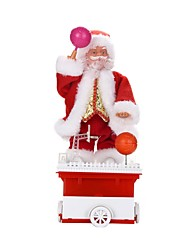 cheap -Christmas Decorations Christmas Gifts Christmas Toys Toys Santa Suits Holiday Holiday New Design Soft Plastic Braided Fabric Children's