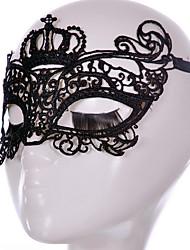 preiswerte -Halloween-Masken Urlaubsrequisiten Urlaubszubehör Dekoration Haloween Figuren Halloween Zubehör Masken Sexy Maske mit Spitze Kopfbedeckung