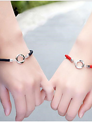 cheap -Men's / Women's Bracelet - Silver Fashion, Lady Bracelet For Wedding / Valentine