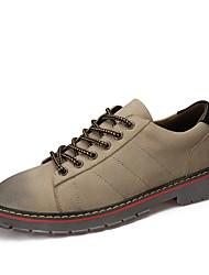 Homme Chaussures Similicuir Printemps, Août, Hiver, Eté Bottes de Cowboy / Western Bottes à la Mode Chaussures formelles Oxfords Pour