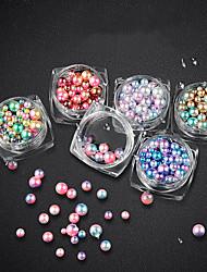 abordables -1 Bijoux à ongles Cristal Briant Mode Haute qualité Quotidien