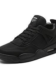 cheap -Men's Shoes Nubuck leather / Suede Winter Comfort Athletic Shoes Basketball Shoes Null Black / Gray / Green