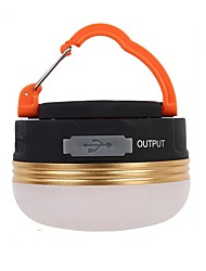 cheap -Lanterns & Tent Lights Emergency Lights LED 180 lm Automatic Mode LED Form Fit Camping/Hiking/Caving Black