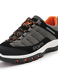 cheap -Men's Shoes Cashmere Spring Fall Light Soles Athletic Shoes Hiking Shoes for Outdoor Black Gray Brown