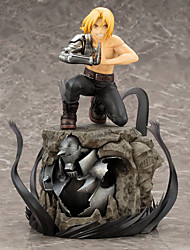 cheap -Anime Action Figures Inspired by Fullmetal Alchemist Edward Elric PVC CM Model Toys Doll Toy