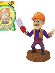 Недорогие -Аниме и манга Игрушечный рисунок Игрушки Цилиндрическая Классика Люди трансформируемый Классика Рыцарь Мягкие пластиковые Детские 1 Куски