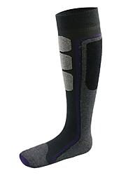 Недорогие -Носки для катания на лыжах Жен. Носки Зима Воздухопроницаемость сохраняющий тепло Хлопок Катание на лыжах