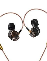 kz comia auscultadores de música para ouvidos graves pesados um fone de ouvido com alta fidelidade