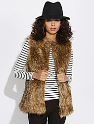 cheap -Women's Going out Daily Casual Fall Winter Vest