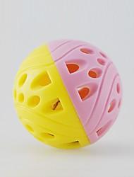 economico -giocattoli giocattolo per animali domestici palle palla campana plastica per animali domestici