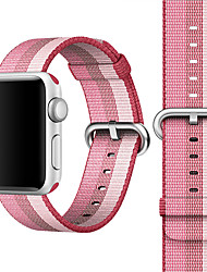 abordables -Bracelet de Montre  pour Apple Watch Series 4/3/2/1 Apple Boucle Classique Nylon Sangle de Poignet