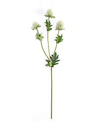 1 Ramo Poliéster Outras Flor de Mesa Flores artificiais
