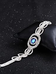 economico -Per donna Sapphire sintetico Bracciali a catena e maglie - Vintage, Elegante Bracciali Blu Per Matrimonio / Evento