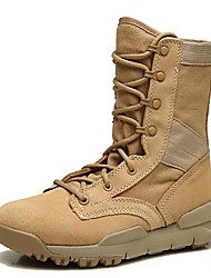 cheap -Unisex Shoes Canvas Nappa Leather Winter Fall Cowboy / Western Boots Bootie Combat Boots Athletic Shoes Hiking Shoes Mid-Calf Boots for
