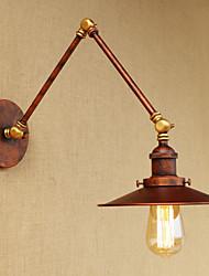 baratos -Retro / Vintage / Regional / Tradicional / Clássico Swing Arm Lights Sala de Estar / Lojas / Cafés Metal Luz de parede 110-120V / 220-240V