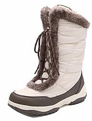 abordables -Femme Chaussures & Bottes Bottes de neige Bottes d'hiver Cuir Nappa Marche dans la Neige Hors piste Sports de neige Chaud Voyage Hiver