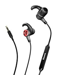 cheap -H31 In Ear Wired Headphones Dynamic Plastic Pro Audio Earphone with Volume Control with Microphone Stereo Headset