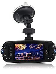 JL-F80 Full HD 1080P 2.7 Inch Night Vision WDR  Rotating dual Lens Car Dvr 170 Degree Rotation Car DVR Vehicle Video Camcorder