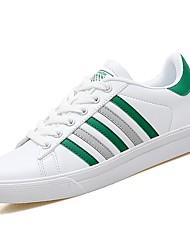 abordables -Homme Chaussures Polyuréthane Printemps / Automne Confort Basket Gris / Noir / blanc / Blanc et vert
