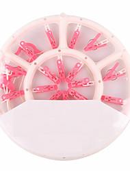 preiswerte -Kunststoff Kreisförmig Einfach zu tragen Zuhause Organisation, 1pc